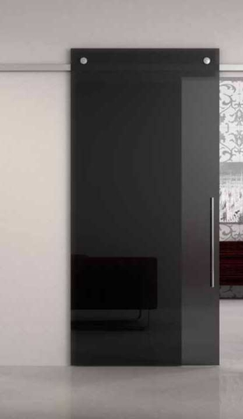 glasschiebet r w optik grau glast ren zum schieben vor. Black Bedroom Furniture Sets. Home Design Ideas