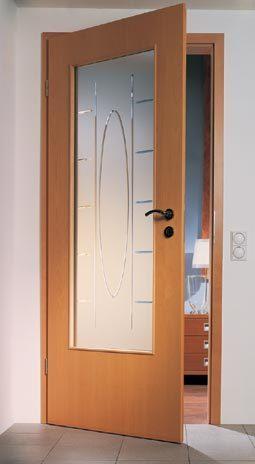 zimmertuer glas modell madrid verglasung lichtausschnitt la. Black Bedroom Furniture Sets. Home Design Ideas