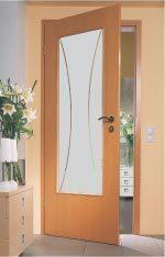 Zimmertüren mit glas modern  Zimmertuer Glas Modell Satiniert Dione | Lichtausschnitt LA