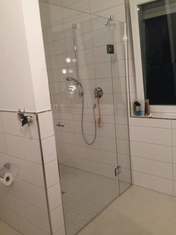 duschen aus glas echtglas esg glasduschen online kaufen. Black Bedroom Furniture Sets. Home Design Ideas