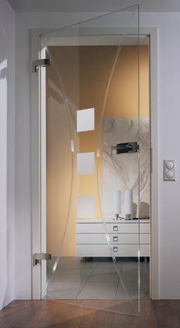 Wohnzimmer Tür, wohnzimmertür   glastür modell elara mit rillenschliffdesign, Design ideen