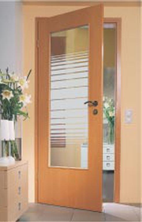 zimmertuer glas modell telesto verglasung lichtausschnitt la. Black Bedroom Furniture Sets. Home Design Ideas