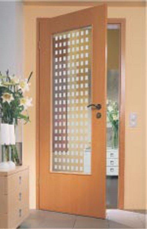 zimmertuer glas esg modell oberonte satiniert lichtausschnitt la. Black Bedroom Furniture Sets. Home Design Ideas