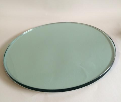 6mm glasplatte rund 400 bis 490mm aus floatglas 6mm nach. Black Bedroom Furniture Sets. Home Design Ideas