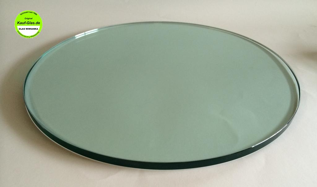 30 cm /Ø Glasscheibe Rund Kreis 4mm Satiniertes Glas Runde Glasplatte Glasscheibe