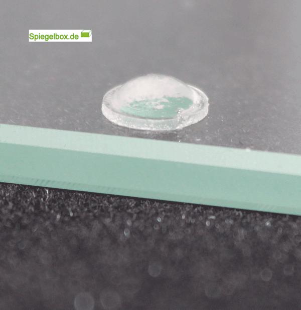 Elastikpuffer Rund 8x8x2mm | Silikonpuffer für Glasplatte