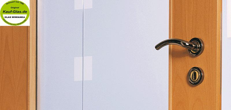 Zimmertüren glas satiniert  Zimmertuer Glas Modell Milano-TE-Verglasung Lichtausschnitt LA