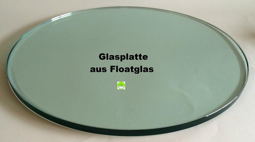 glasplatte glasplate 700 bis 790mm rund. Black Bedroom Furniture Sets. Home Design Ideas
